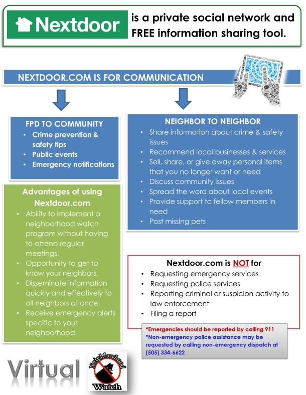 Nextdoor.com Infographic