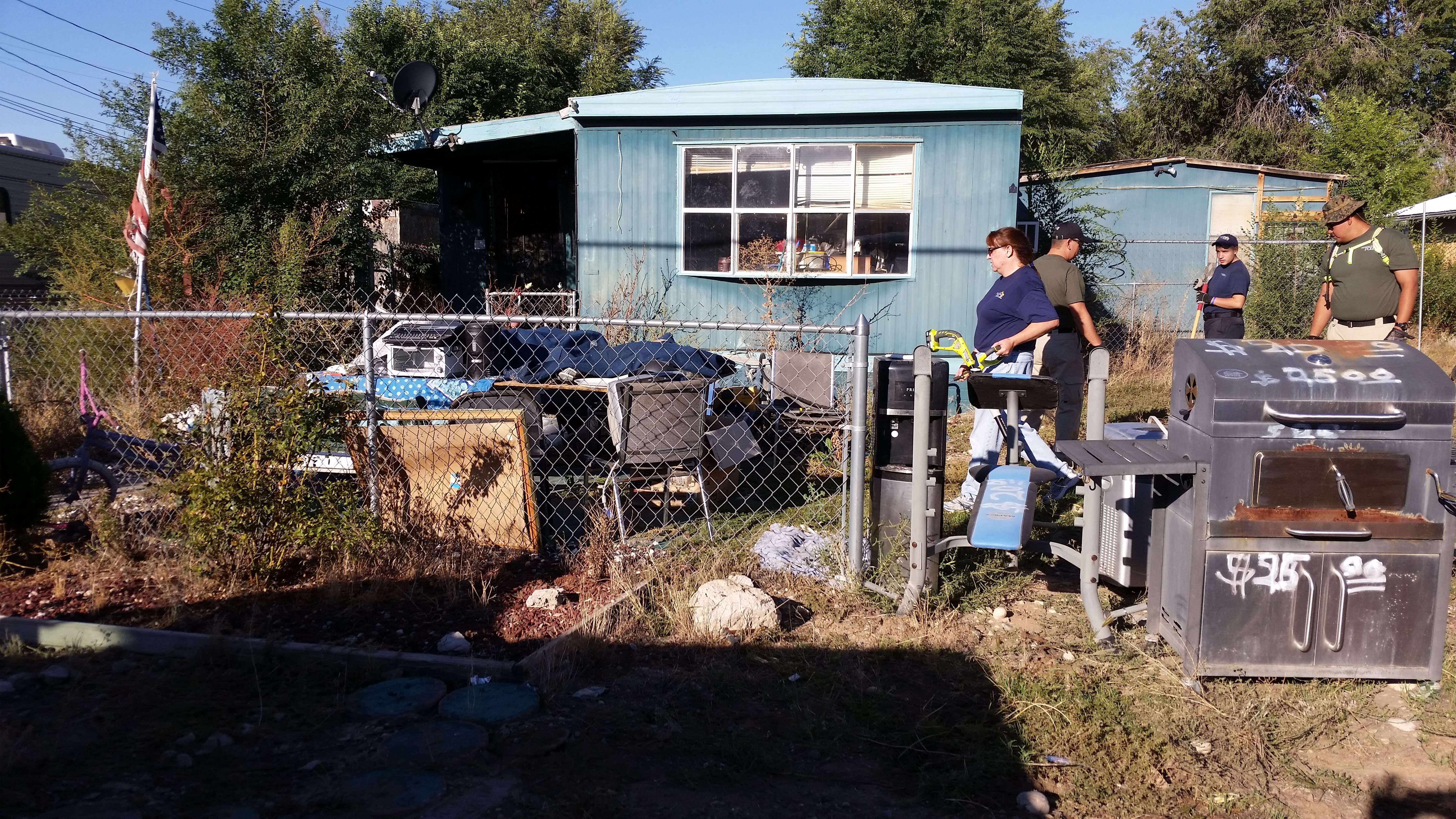 yard cleanup farmington police department blog