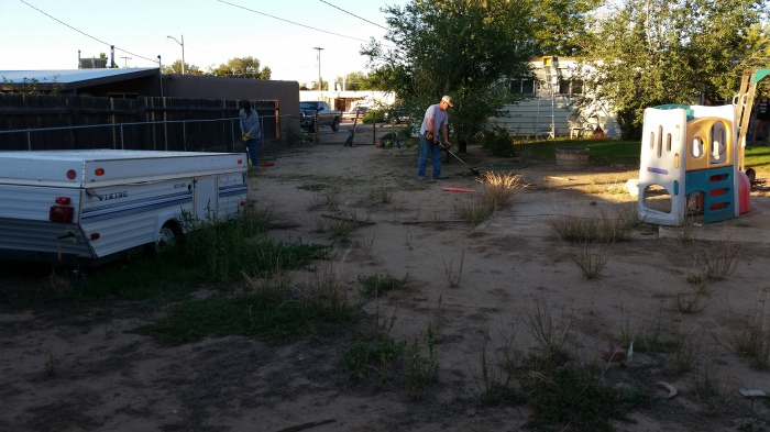 FPD Code Compliance Yard Cleanup 9-26-15 (5)